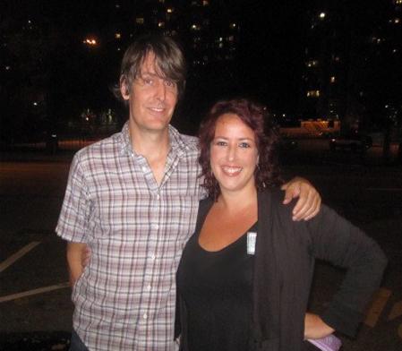 Mikala and Steve Malkmus, backstagerider.com photo