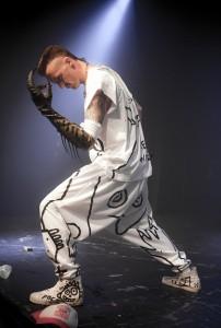 The backstage rider die antwoord kick off world fokken for Die antwoord fish paste