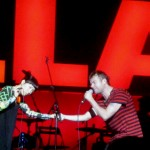 Little Dragon and Damon Albarn, Gorillaz, backstagerider.com photo