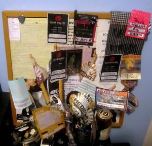 BackstageRider Bulletin Board
