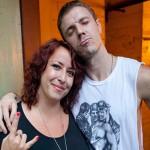 Mikala and Jake Shears, Kris Krug photo