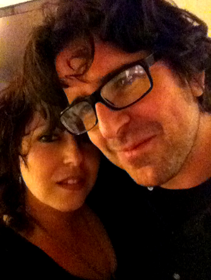 Mikala BackstageRider with Lou Barlow