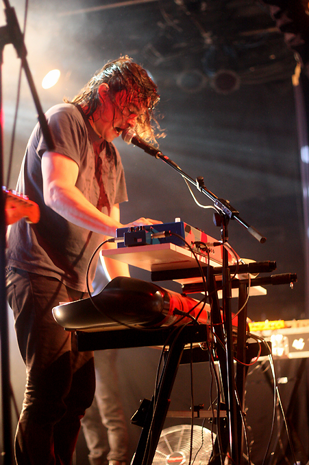 Spencer Krug, Wolf Parade, pic by Mikala Taylor/backstagerider.com