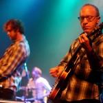 Patrick, Cully, Jason, Okkervil River, pic by Mikala Taylor/backstagerider.com
