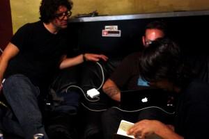 Lou, Mattias, Jason, Sebadoh, pic by Mikala Taylor/backstagerider.com