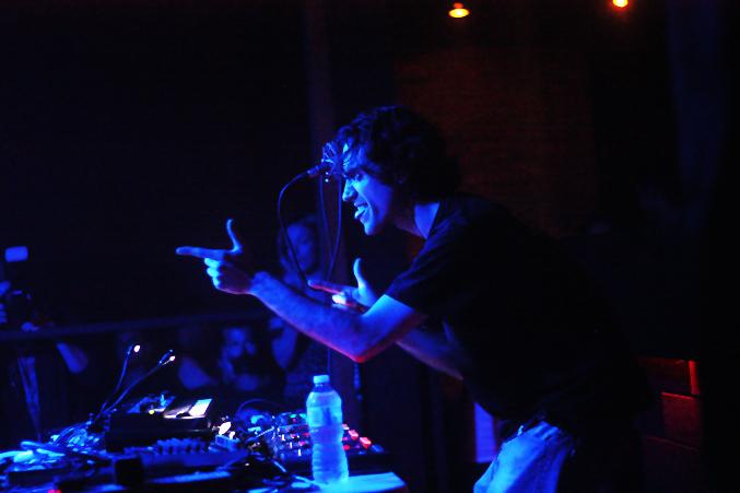 Beardyman, pic by Mikala Taylor/backstagerider.com