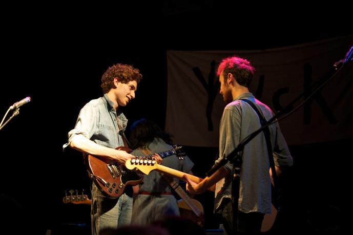 Daniel and Max, Yuck, pic by Chris Gersbeck
