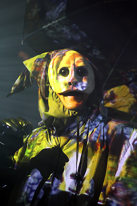 Skinny Puppy, photo by Mikala Folb/BackstageRider.com