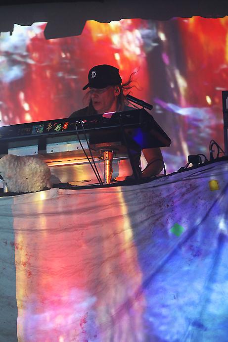 Skinny Puppy, photo by Mikala Folb/BackstageRider.com
