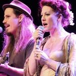 Jason Webley and Amanda Palmer, photo by Mikala Folb