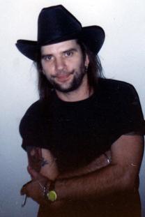 Steve Earle, Massey Hall, 1990 photo by Mikala