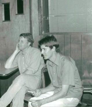 Back in the day: Pavement's Bob Nastanovich and Steve Malkmus, photo thanks to Robin Rosenberg & Bob N.