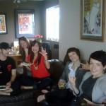 Simon, Andrea, Pam, Charlotté and Suzanne, Vancouver