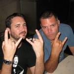 Wil Wheaton & Aaron Douglas @w00tstock, San Diego, Diana Keng for backstagerider.com