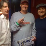 Steve (centre) w/ Pavement's Steve and Scott in Atlanta, GA