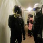 Daft Punksters, Halloween 2010, Vancouver