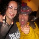 Mikala/Siouxsie & (real) Nardwuar, Vancouver, BC