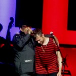 Bobby Womack and Damon Albarn, Gorillaz, backstagerider.com