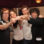 Ben Folds, Amanda Palmer, Damian OKGo and Neil Gaiman