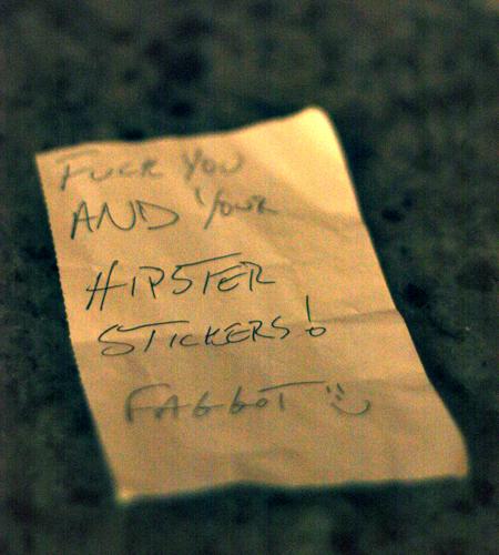 Hipster Love Letter