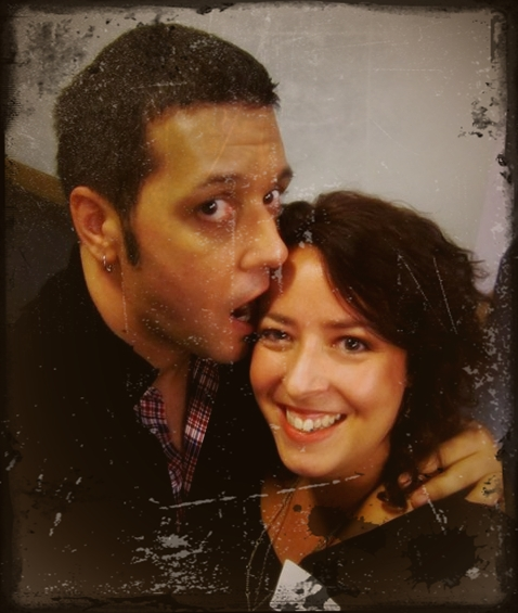 George Stroumboulopoulos and Mikala Taylor/BackstageRider