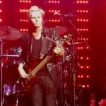 John Taylor, Duran Duran, pic by Mikala Taylor/backstagerider.com