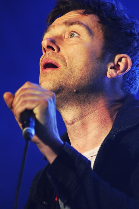 Damon Albarn, Blur, pic by Mikala Taylor