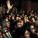 Crowd, photo Mikala Folb