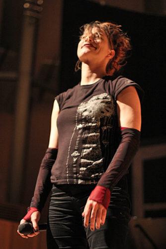 Amanda Palmer, photo Mikala Folb/backstagerider.com